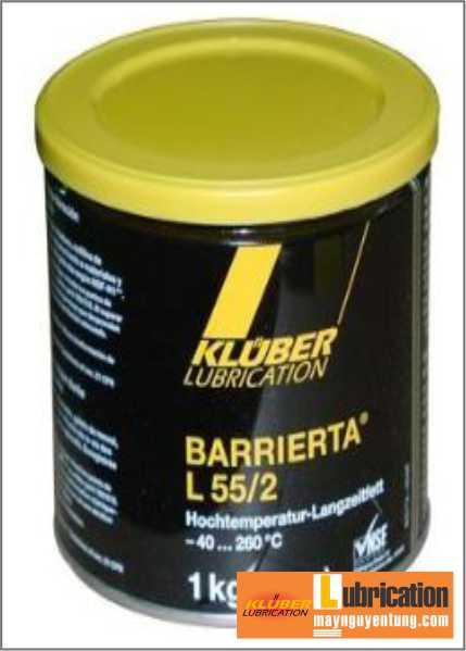 Dầu mỡ bôi trơn Kluber BARRIERTA L55/2 dùng cho bạc đạn vòng bi